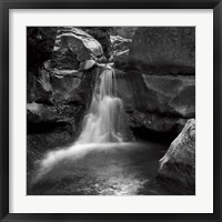 Framed Silent Stream BW