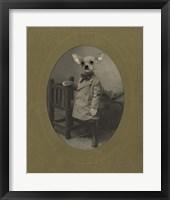 Dog Series #3 Framed Print