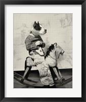 Dog Series #4 Framed Print