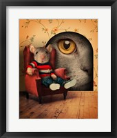 Mice Series #3.5 Framed Print