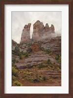 Framed Sedona Vertical