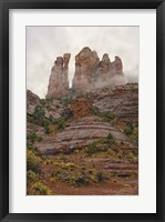 Framed Sedona Vertical