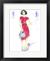 Framed Queen Crimson