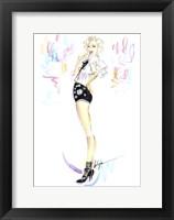 Framed Cheeky Marilyn