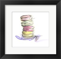 Framed Macaroon Delight