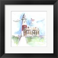 Framed Montauk Lighthouse