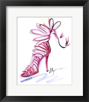 Framed Pink Up Your Heels
