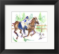 Framed Polo Pleasure