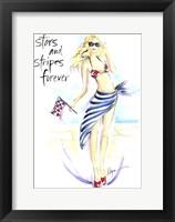 Framed Stars And Stripes Forever