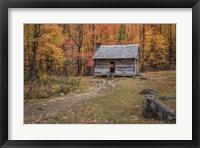 Framed Alex Cole Cabin