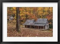 Framed Bud Ogle Place With Barn Comp 2