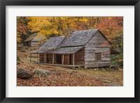 Framed Bud Ogle Place With Barn
