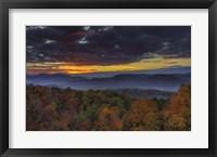 Framed Smokies Sunrise
