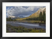 Framed Soda Butte Creek Scenery (Yellowstone)