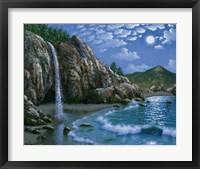 Framed Mc Way Cove - Big Sur