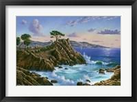 Framed Lone Cypress - Carmel, CA