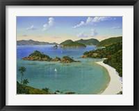 Framed Trunk Bay - Virgin Islands