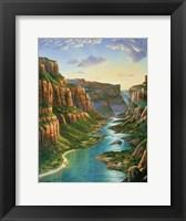 Framed Colorado River - Grand Canyon