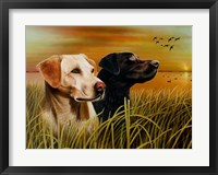 Framed Hunting Dogs