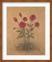 Framed Bunch of Red Roses 2