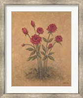 Framed Bunch of Red Roses 2