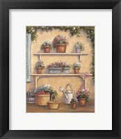 Framed Pot OF Flowers