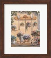 Framed Pot OF Flowers 2
