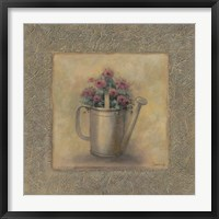 Framed Flowers In A Watering Can
