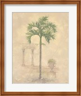 Framed Palm With Architecture 1