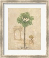 Framed Palm With Architecture 2