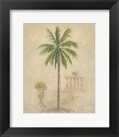 Framed Palm With Architecture 4