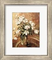 Framed Late Summer Roses