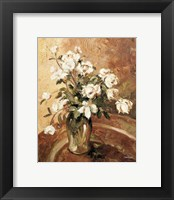 Late Summer Roses Framed Print