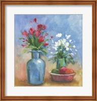 Framed Floral L