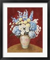 Framed Floral O