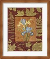 Framed Flowers With Leaf Border