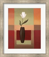 Framed Black Vase 1