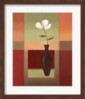 Framed Black Vase 3