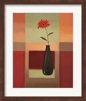 Framed Black Vase 4