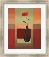 Framed Black Vase 4
