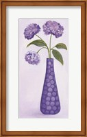 Framed Purple Vase 1