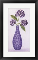 Framed Purple Vase 2