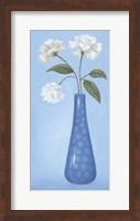 Framed Blue Vase 1