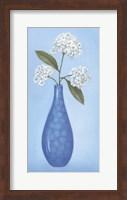 Framed Blue Vase 2
