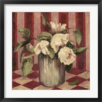 The Last Peonies Framed Print
