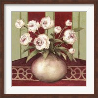 Framed Ragtime Rose