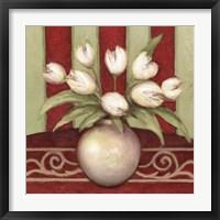 Tulip Tango Framed Print