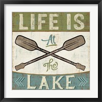Framed By the Lake I