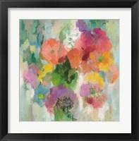 Framed Colorful Garden II