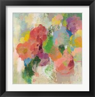 Colorful Garden III Framed Print